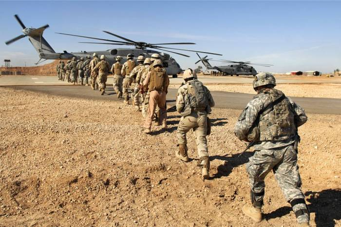 ABŞ ordusunu İraqdan çıxarır