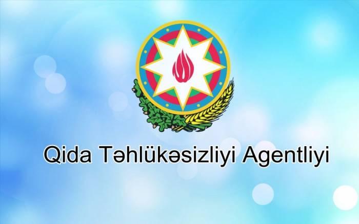 Qida Təhlükəsizliyi Agentliyində 7 şöbə yaradılıb
