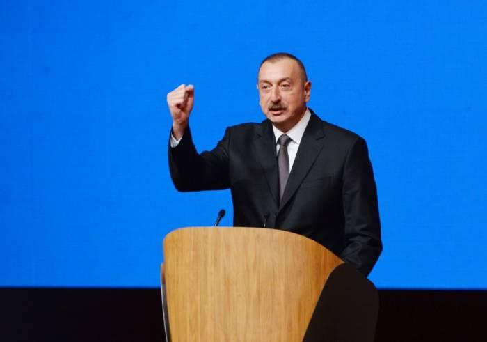 """""""Tarixi torpaqlara qayıdış bizim hədəfimizdir"""" - İlham Əliyev"""