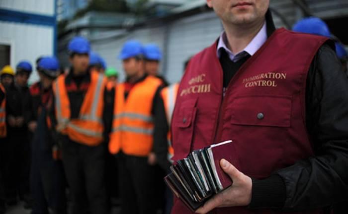 540 mindən çox əcnəbi Rusiyadan deportasiya edilib