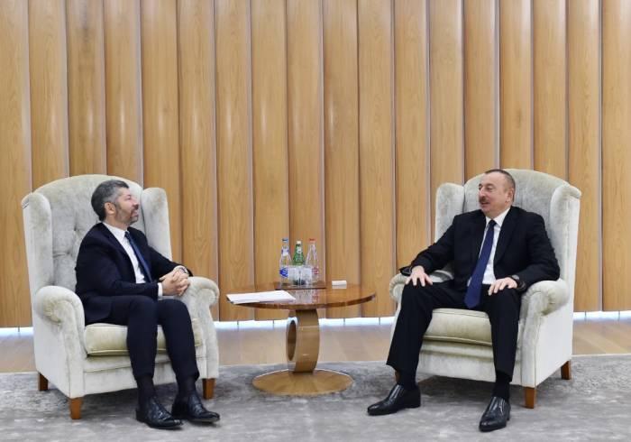 İtaliyalı nazir müavini prezidentin qəbulunda - Yenilənib