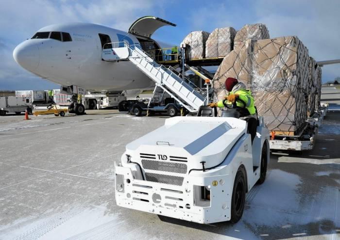 Yanvarda hava nəqliyyatı ilə 410 ton yük göndərilib