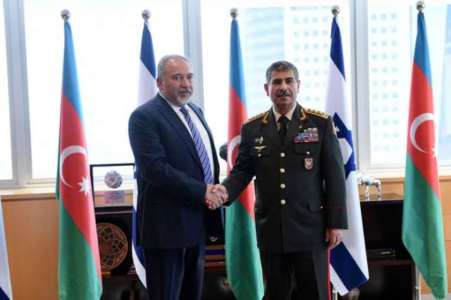 Ministers of Defense of Azerbaijan and Israel held a meeting