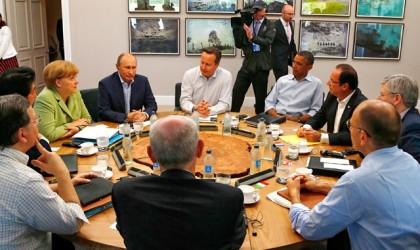 Rusiyanın G8-də üzvlüyü dayandırılır