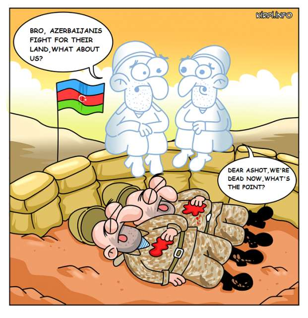 What the hell are Armenians doing in Karabakh?  - CARTOON