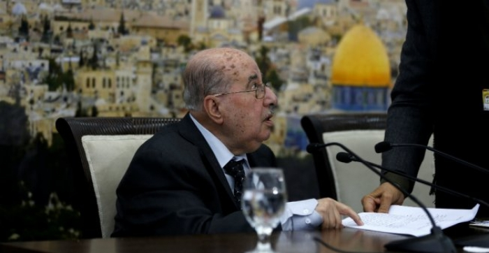 Palestinian leaders call for suspending recognition of Israel