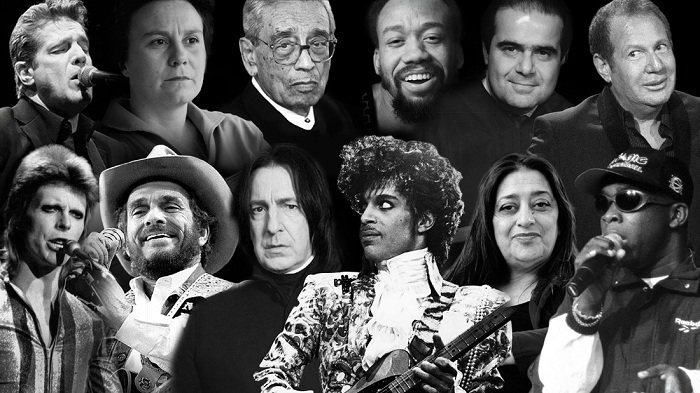 In memoriam: Those we lost in 2016 - PHOTOS