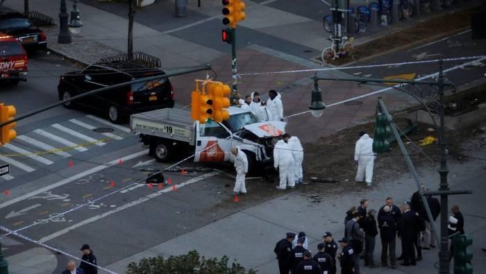 Nyu-Yorkda terror aktı: 8 ölü, xeyli yaralı var - VİDEO (Yenilənib)