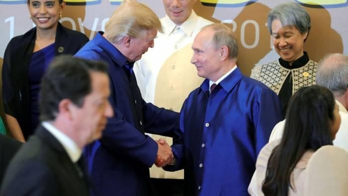 Putin Trampla görüşə bilməməsinin səbəbini açıqladı