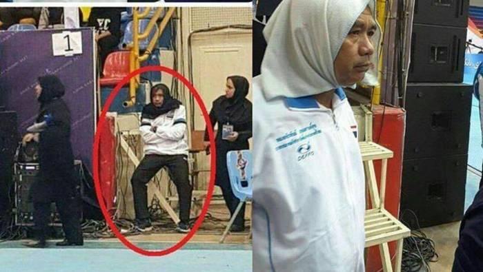 Hicab taxan kişi baş məşqçiyə cinayət işi açılacaq - FOTOLAR