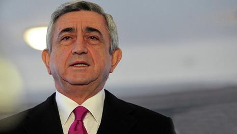Sərkisyan prezidentə yalvardı