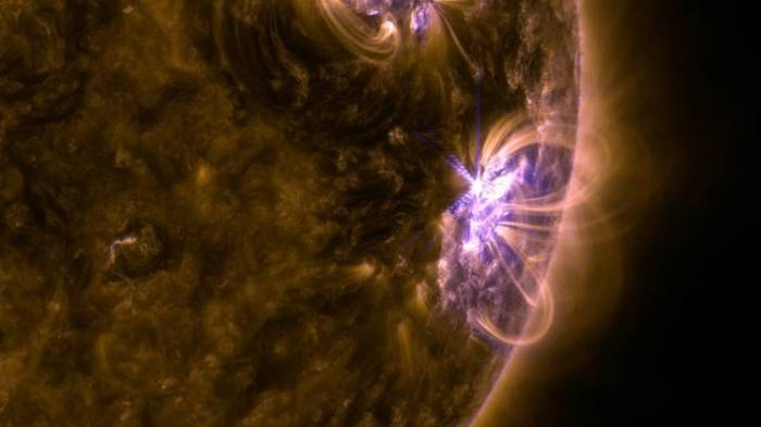 La tormenta magnética causada por la última llamarada solar, a punto de llegar a la Tierra