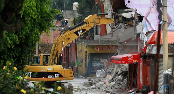 Niña de 8 años rescatada viva 33 horas después del terremoto en México