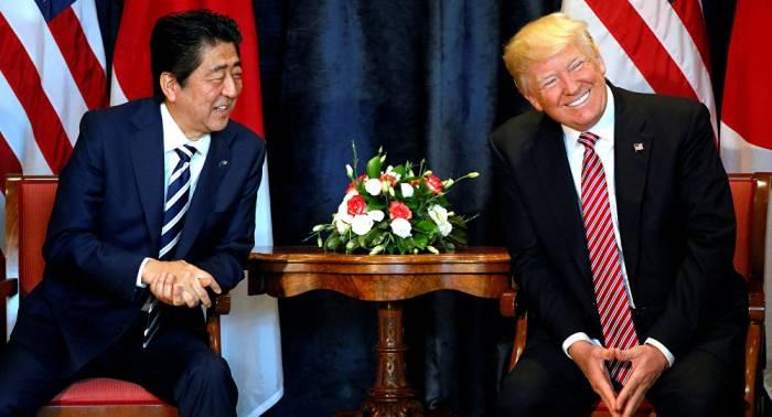 Trump y Abe llaman a China y Rusia a incrementar presiones a Pyongyang