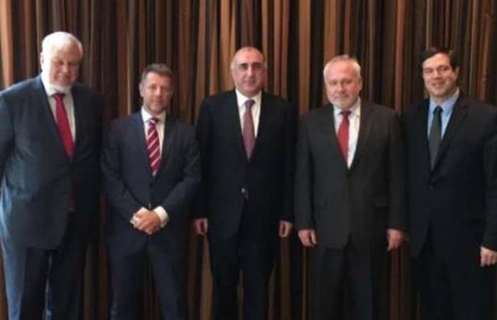 Mammadyarov se reúne con los copresidentes en Nueva York