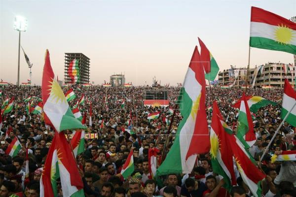 La diáspora kurda iraquí comienza a votar en el referéndum de independencia