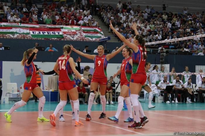 Los primeros semi-finalistas en el Campeonato Europeo de Voleibol se determinan en Bakú