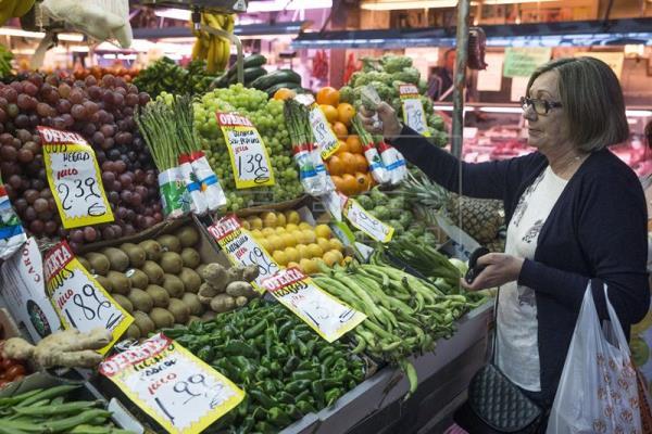 La inflación repunta al 1,8 % en septiembre por el alza de los alimentos