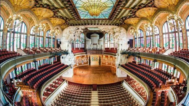Palau Música de Barcelona abrirá puertas de noche e incluso permitirá dormir días 30 y 31