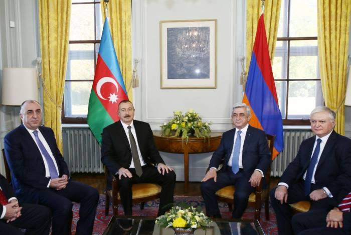 Se arrancó la entrevista Aliyev-Sarquisyán en Ginebra