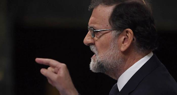 """Rajoy ve a Puigdemont como """"el único responsable"""" en caso de la aplicación de la Constitución"""