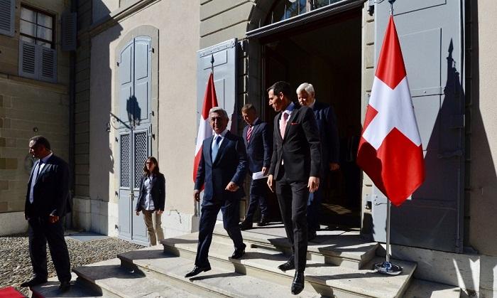 Concluida la reunión Aliyev-Sargsián en Ginebra