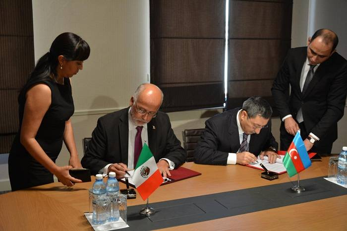Se ha concluido un acuerdo intergubernamental entre Azerbaiyán y Mexico