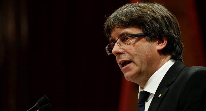 """Puigdemont: """"No podemos aceptar este ataque y humillación con la aplicación del 155"""""""