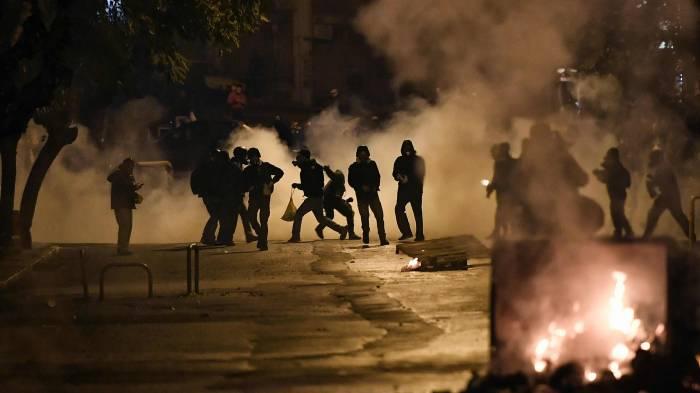 Marcha estudiantil se convierte en Grecia en protesta contra EEUU