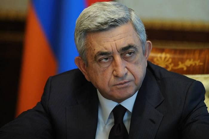 """Fernsehsender des russischen Verteidigungsministeriums nannte Sargsyan """"faschist"""" - VIDEO"""