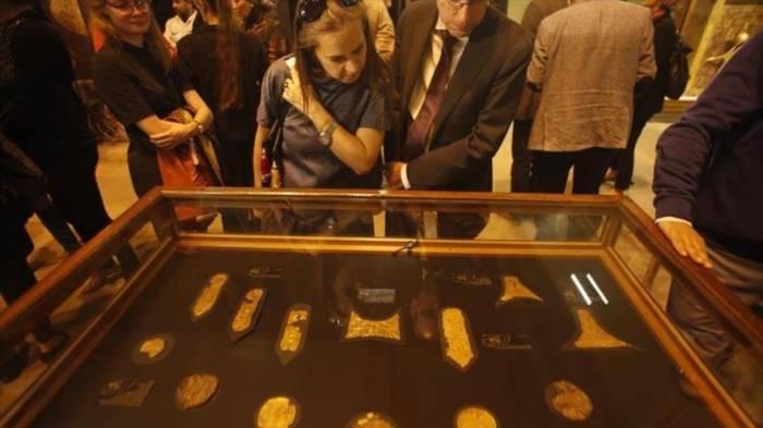 Exhiben en El Cairo piezas de la tumba de Tutankamón jamás vistas