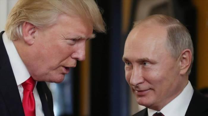 Trump critica a Putin por no presionar a Corea del Norte