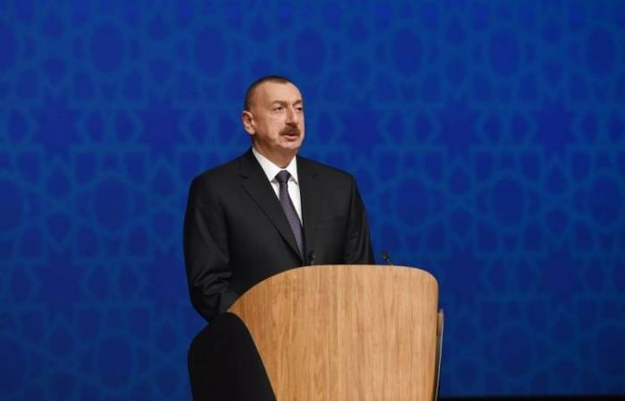 """Ilham Aliyev: """"La idea de la creación de un segundo estado armenio es un fruto de la imaginación peligrosa y enferma"""""""