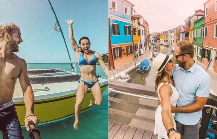 Esta pareja gana 167.000 euros al año por viajar a lugares de ensueño