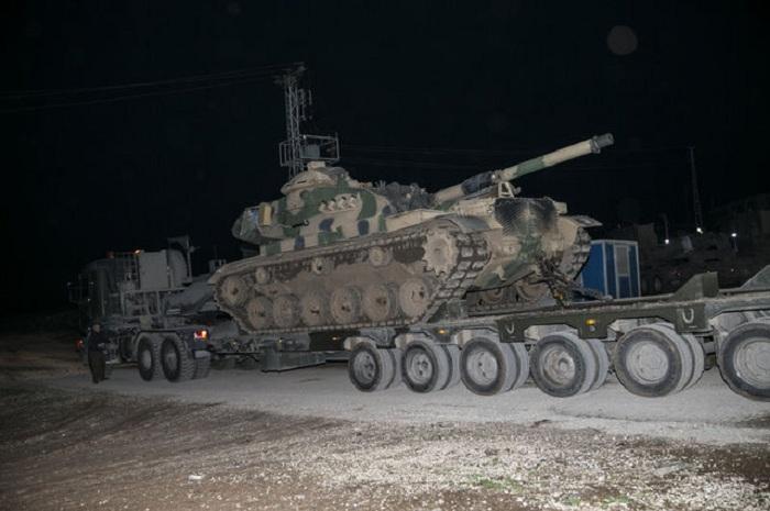 Türkiyə Afrində quru əməliyyatına başladı