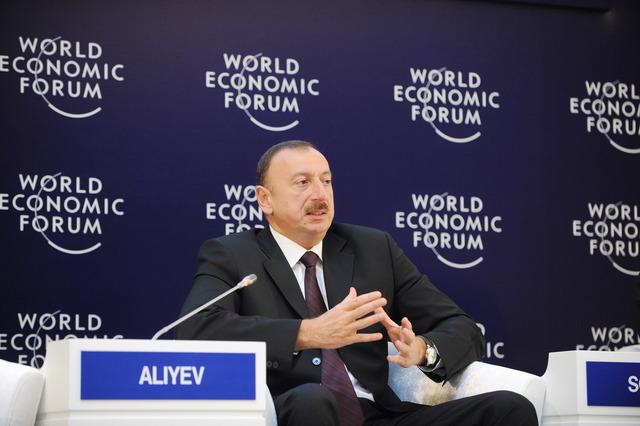 Dünyanın diqqəti Davosda: İlham Əliyev çıxış edəcək