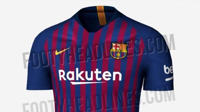 Vea cómo será la nueva indumentaria del F.C Barcelona