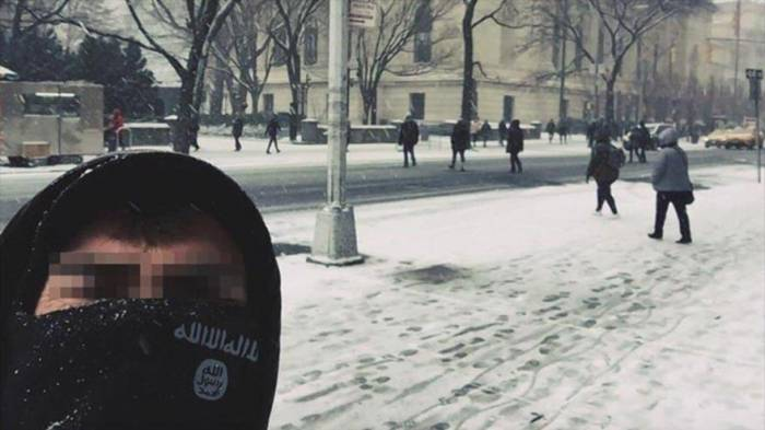 Selfi de un terrorista de EIIL en corazón de Nueva York causa pánico
