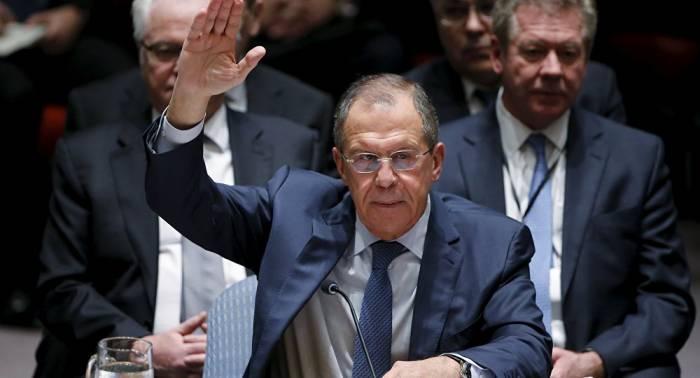 Lavrov asistirá a los debates en el Consejo de Seguridad de la ONU