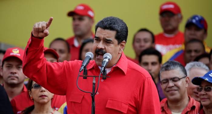 Maduro: nadie puede callar ante dichos supremacistas de Trump