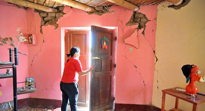 Más de 700 familias afectadas por el terremoto en Perú