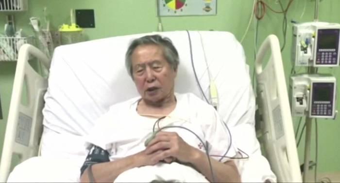 El expresidente peruano Fujimori hospitalizado por una arritmia