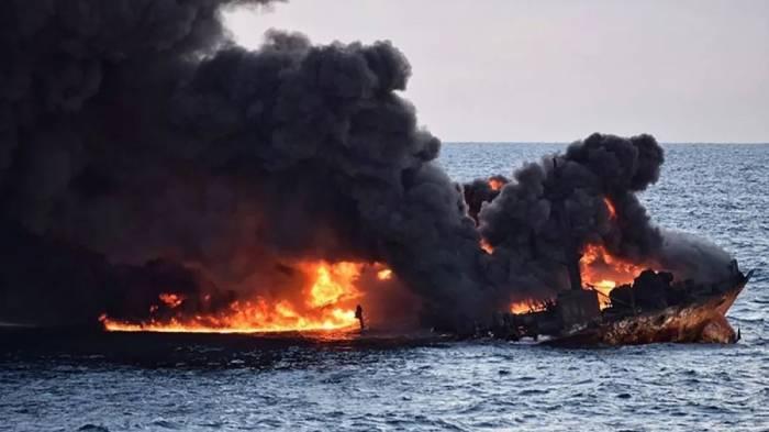 Líder iraní ofrece condolencias por víctimas del petrolero Sanchi