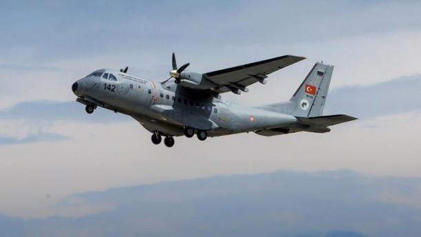 Se estrella un avión militar en Turquía: 3 muertos