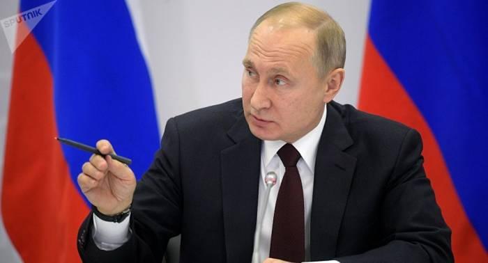 Putin marca prioridades económicas para la presidencia rusa de la UEE