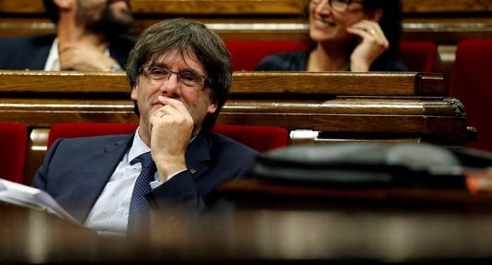 Las redes sociales ironizan sobre el paradero del expresidente catalán