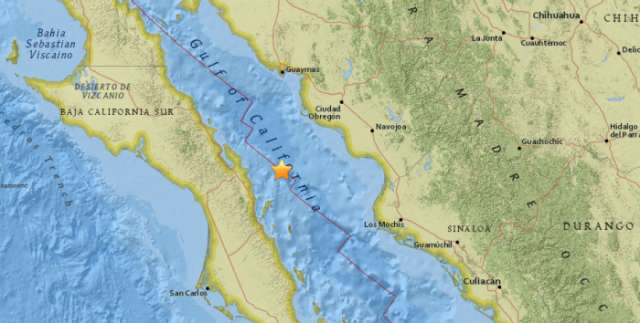 Sismo de magnitud 6,3 sacude el noroeste de México, según USGS