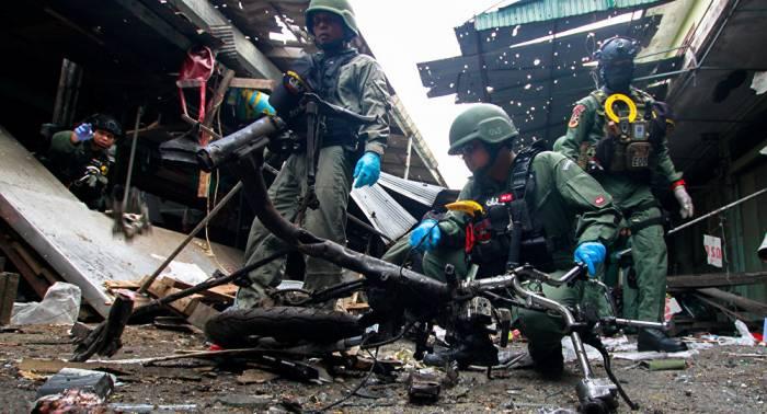 Ataque con moto bomba deja varios muertos y heridos en el sur de Tailandia