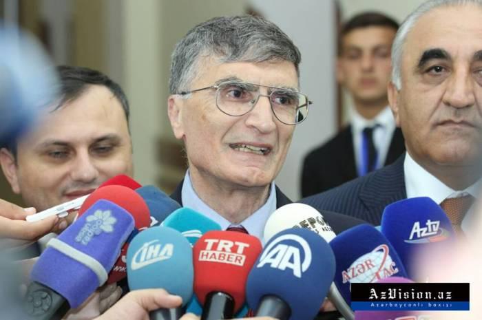 """""""Azərbaycan elminə töhfə vermək istəyirəm"""" - Əziz Sancar (FOTOLAR)"""
