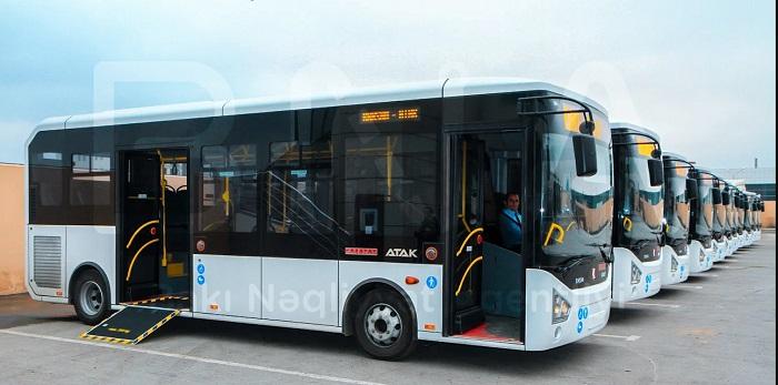 Bakıya yeni avtobuslar gətirilib - FOTO